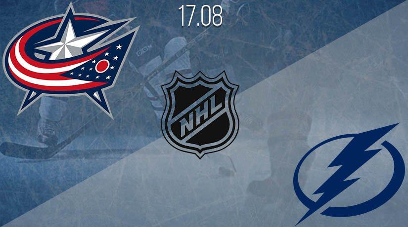 NHL Prediction: Columbus Blue Jackets vs Tampa Bay Lightning on 17.08.2020