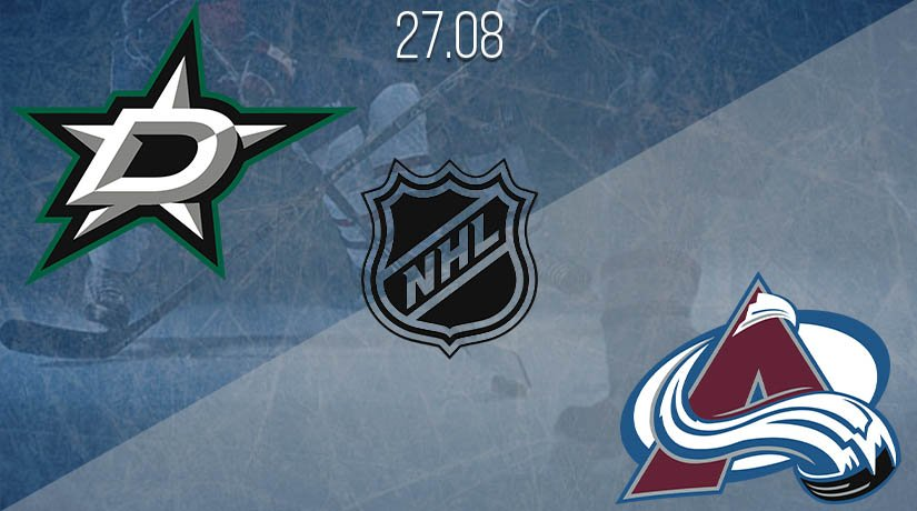 NHL Prediction: Dallas Stars vs Colorado Avalanche on 27.08.2020
