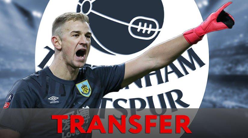 Tottenham Hotspur announced Joe Hart's transfer