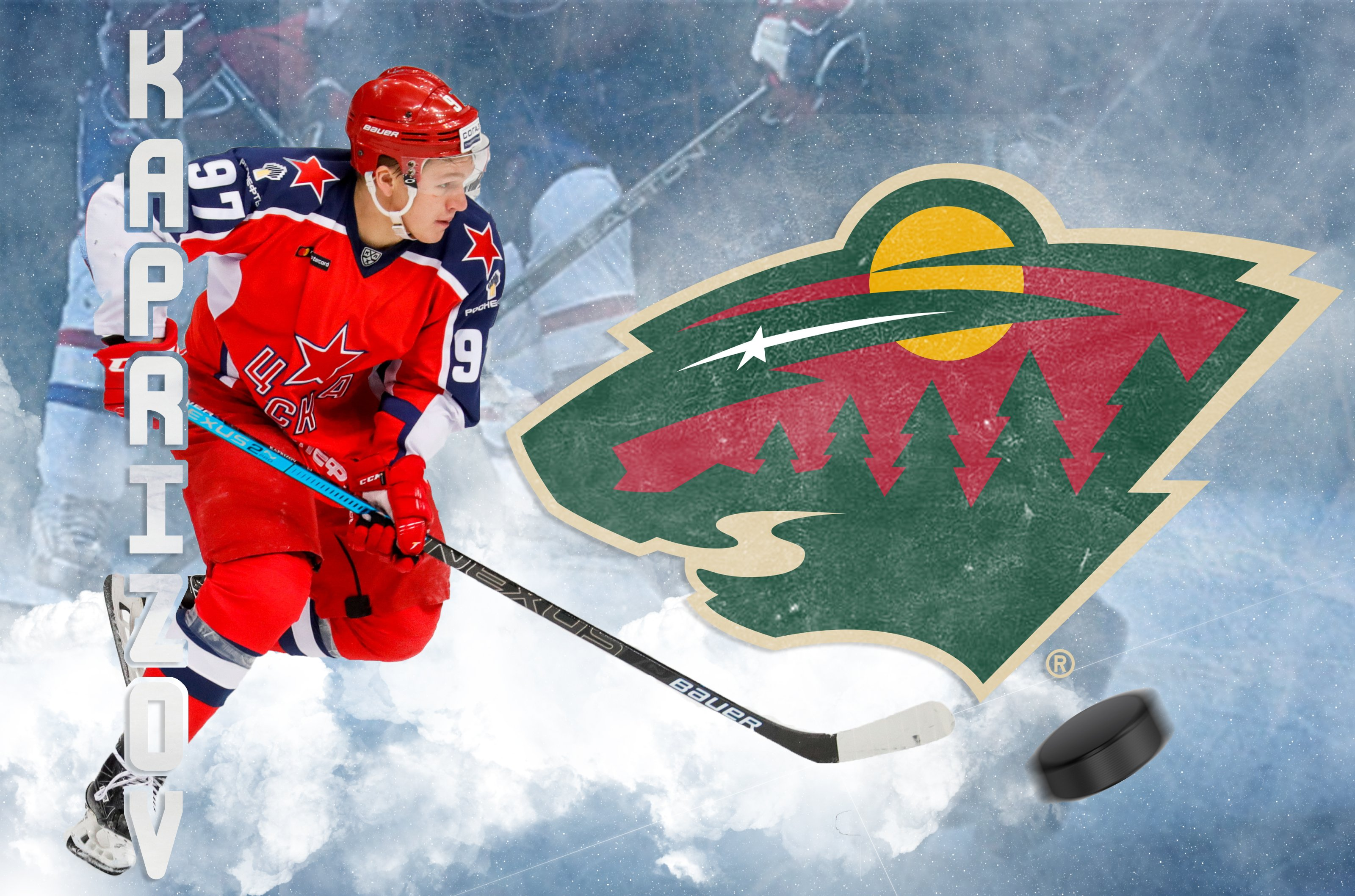 One of the best KHL players becomes a Minnesota Wild