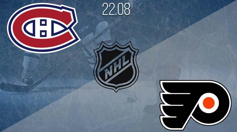 NHL Prediction: Montreal Canadiens vs Philadelphia Flyers on 22.08.2020