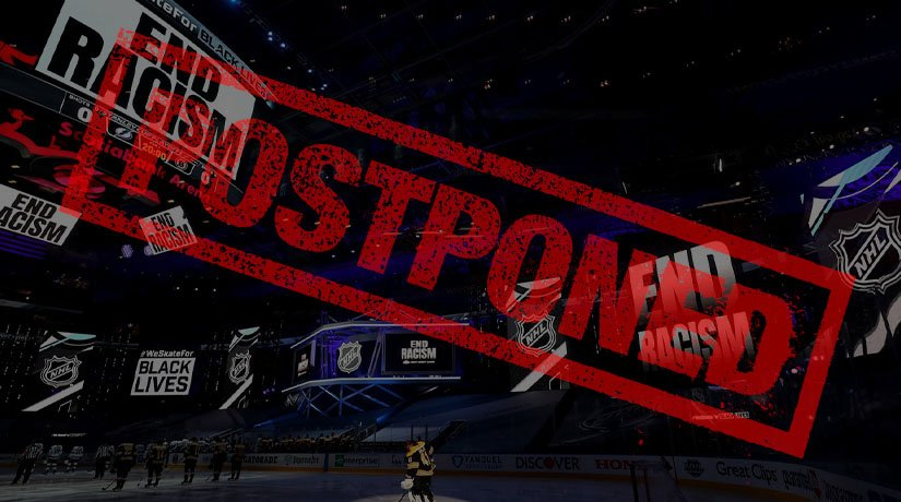 NHL Postpones Playoffs in a Stand Against Racism