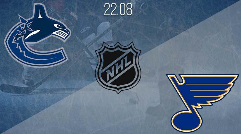 NHL Prediction: Vancouver Canucks vs St. Louis Blues on 22.08.2020
