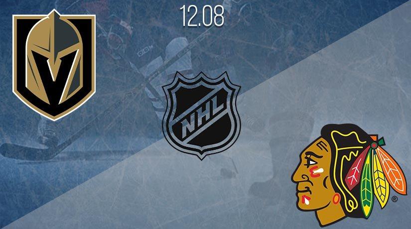NHL Prediction: Vegas Golden Knights vs Chicago Blackhawks Match on 12.08