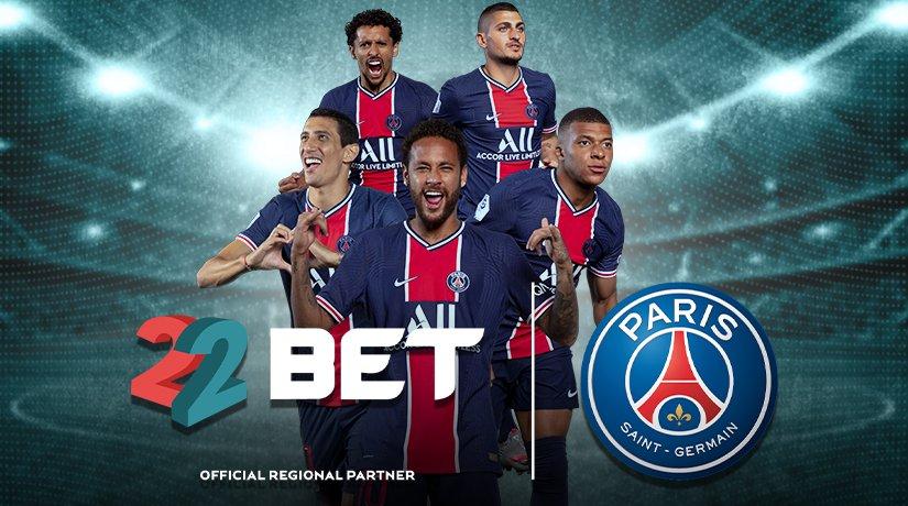 22BET Announces Partnership With Paris Saint-Germain (PSG)