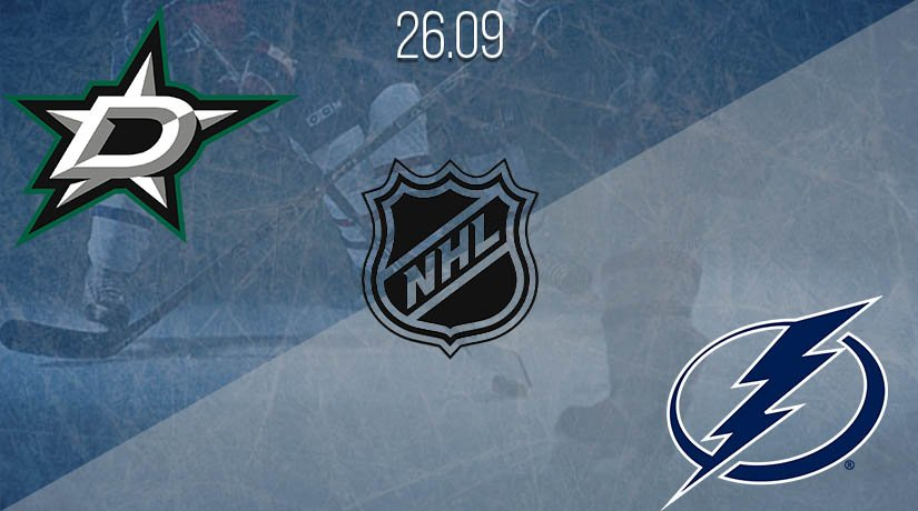 NHL Prediction:  Dallas Stars vs Tampa Bay Lightning on 26.09.2020