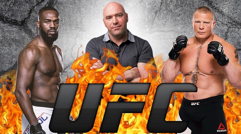 UFC president Dana White announced eagerness to arrange a fight between John Jones and Brock Lesnar