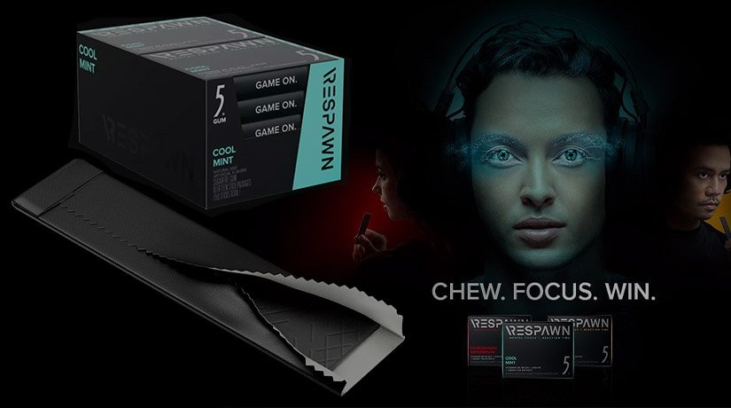 Razer released chewing gum for gamers