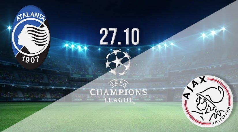 Atalanta vs Ajax Prediction: UEFA Champions League on 27.10.2020
