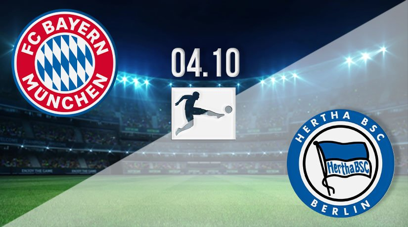 Bayern Munich vs Hertha Berlin Prediction: Bundesliga Match on 04.10.2020