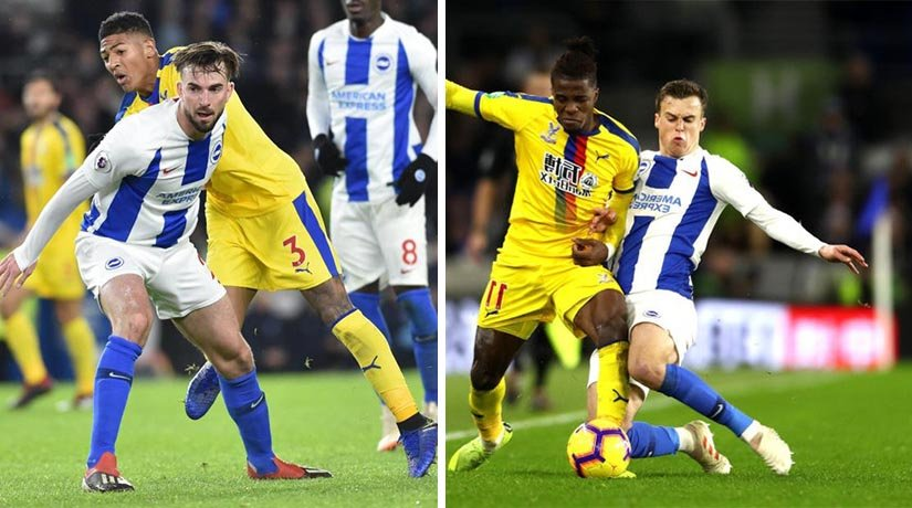 Crystal Palace and Brighton Hove previous Premier League matchweek game.