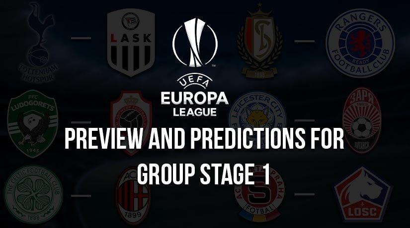 Europa League Preview and Predictions for Group Stage 1 – 2020/21 Season