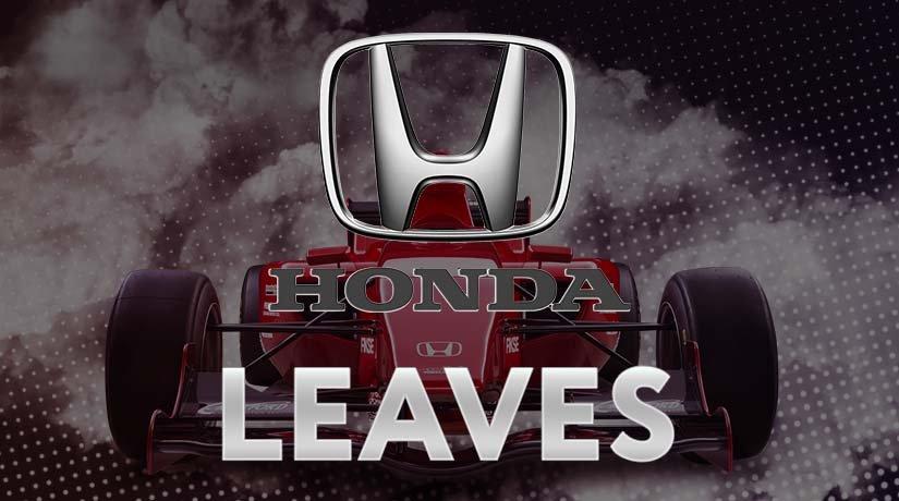 Honda Announces Leaving Formula 1 after the 2021 season