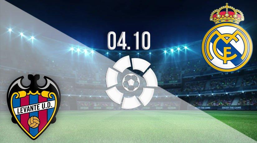 Levante vs Real Madrid Prediction: La Liga Match on 04.10.2020