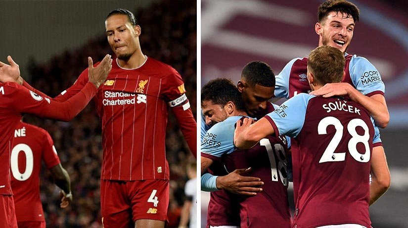 Liverpool and West Ham ahead of one of the biggest matches of this week