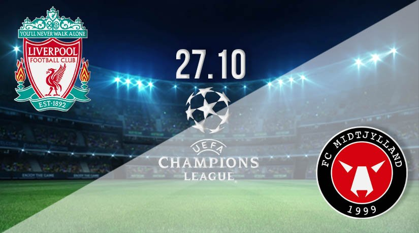 Liverpool vs Midtjylland Prediction: UEFA Champions League on 27.10.2020
