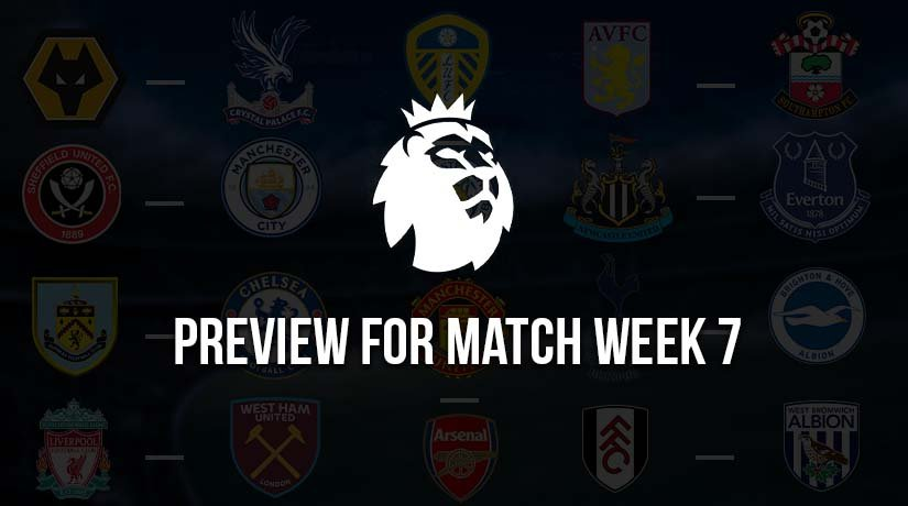 Predictions for This Week's Premier League Matches – Matchweek 7 – Season 2020/21