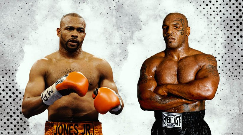 The legendary boxers Mike Tyson and Roy Jones Jr. show off their workouts