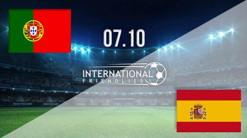 Portugal vs Spain Prediction: International Friendly Match on 08.10.2020