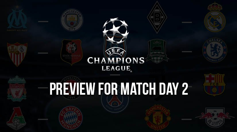 Champions League Preview for Match Day 2 – Season 2020/21