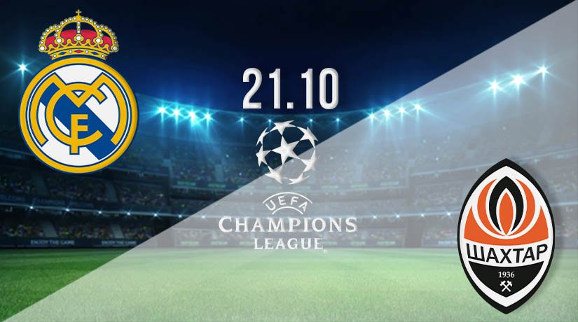 Real Madrid vs Shakhtar Donetsk Prediction: UEFA Champions League on 21.10.2020