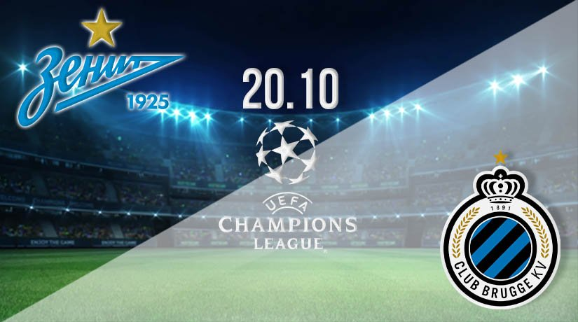 Zenit vs Bruges Prediction: UEFA Champions League on 20.10.2020