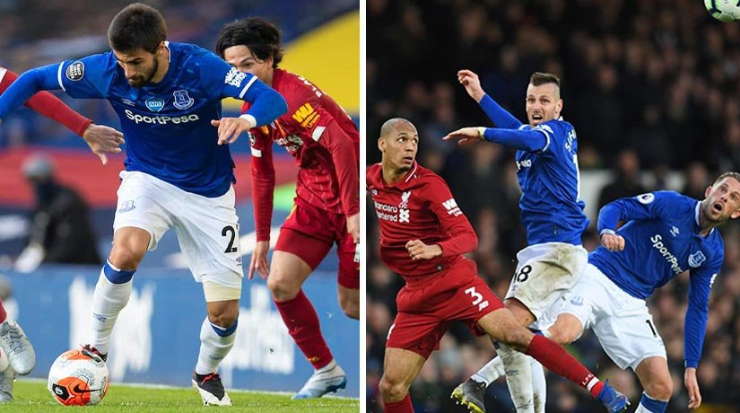 Liverpool and Everton players before EPL matchweek 4