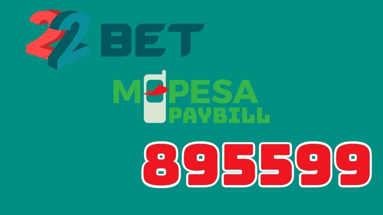 22Bet Kenya Mpesa paybill number