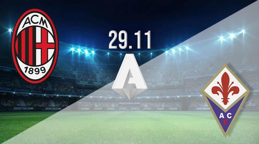 AC Milan vs Fiorentina Prediction: Serie A Match on 29.11.2020