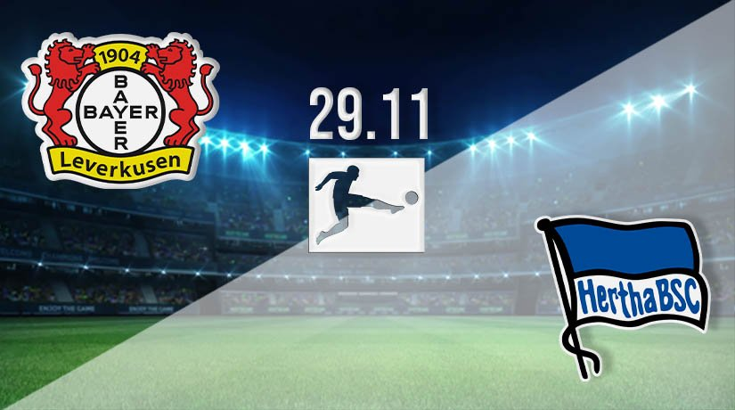 Bayer Leverkusen vs Hertha Berl in Prediction: Bundesliga Match on 29.11.2020