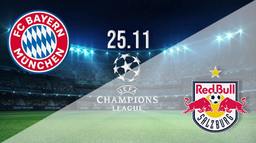 Bayern Munich vs Red Bull Salzburg  Prediction: UEFA Champions League on 25.11.2020