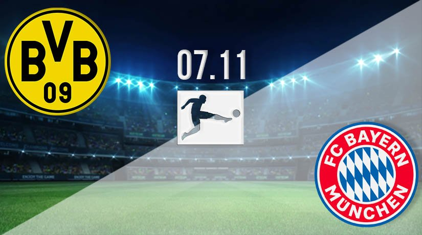 Borussia Dortmund vs Bayern Munich Prediction: Bundesliga Match on 07.11.2020