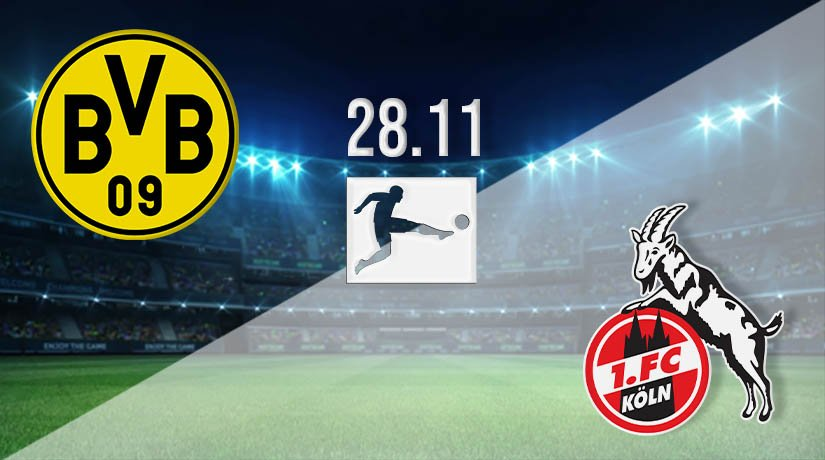 Borussia Dortmund vs FC Köln Prediction: Bundesliga Match on 28.11.2020
