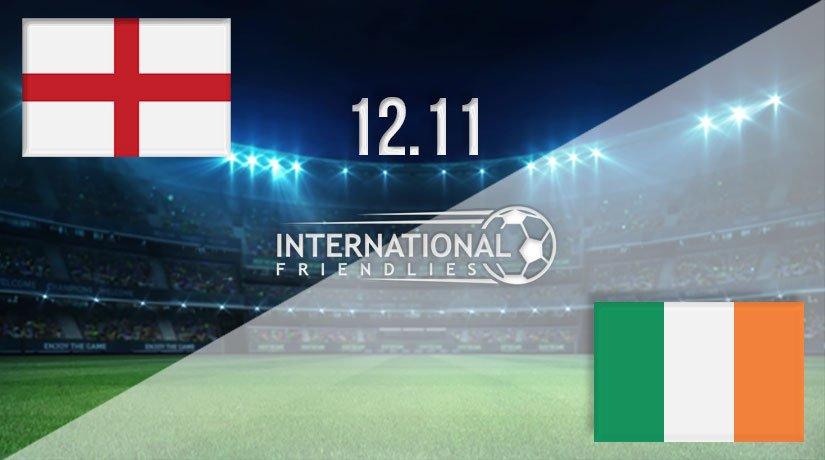 England vs Republic of Ireland Prediction: International Friendly Match on 12.11.2020