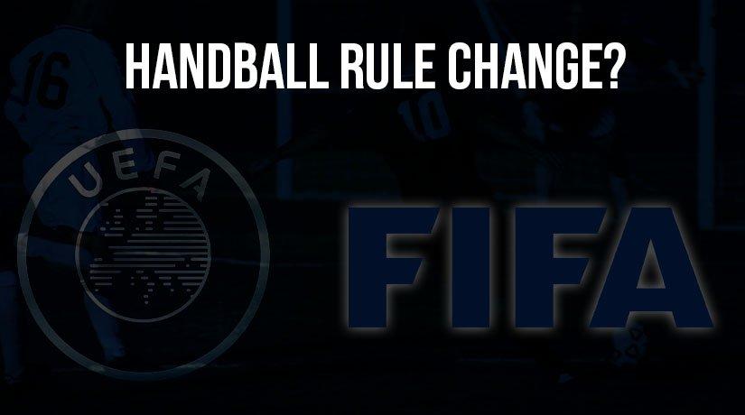 UEFA Asks FIFA for a Handball Rule Change