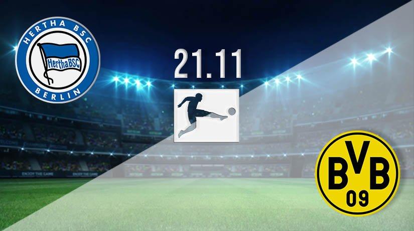 Hertha Berlin vs Borussia Dortmund Prediction: Bundesliga Match on 21.11.2020