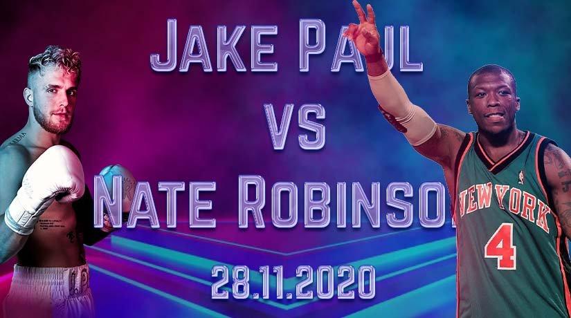Jake Paul vs Nate Robinson Prediction: Boxing Match on 28.11.2020