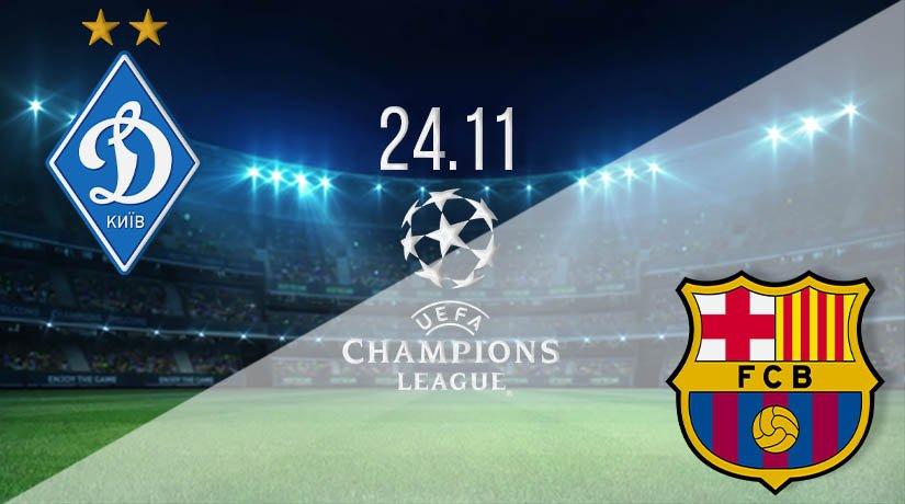 Dynamo Kyiv vs Barcelona  Prediction: UEFA Champions League on 24.11.2020