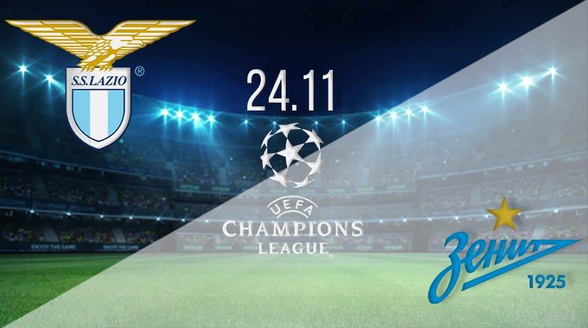 Lazio vs Zenit Prediction: UEFA Champions League on 24.11.2020
