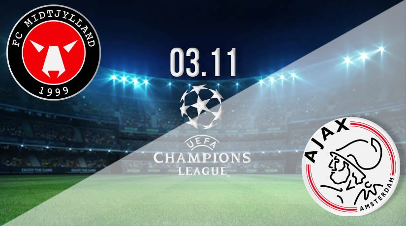 Midtjylland vs Ajax Prediction: UEFA Champions League on 03.11.2020