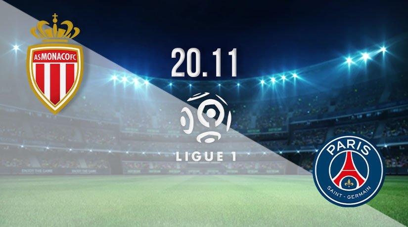 Monaco vs PSG Prediction: Ligue 1 Match on 20.11.2020