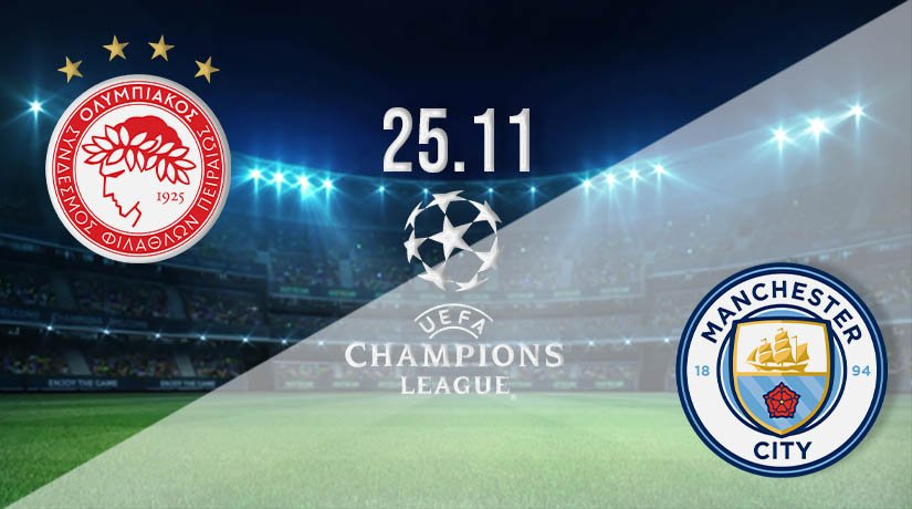 Olympiakos vs Man City  Prediction: UEFA Champions League on 25.11.2020