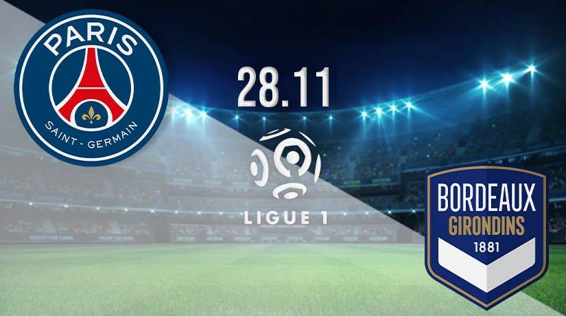 PSG vs Bordeaux Prediction: Ligue 1 Match on 28.11.2020