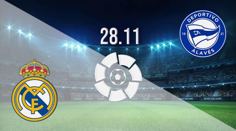 Real Madrid vs Alaves Prediction: La Liga Match on 28.11.2020