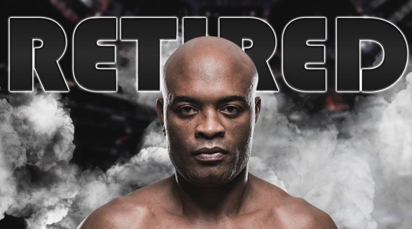 45-year-old Anderson Silva announced his retirement