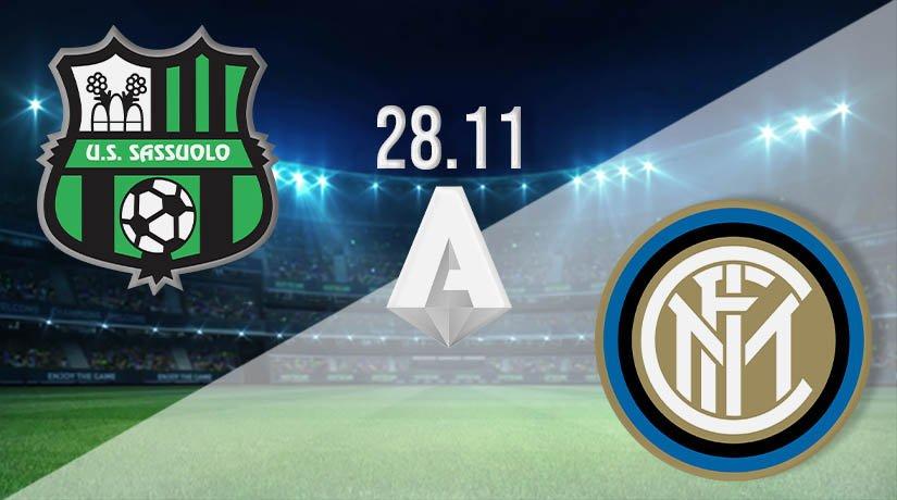 Sassuolo vs Inter Milan Prediction: Serie A Match on 28.11.2020