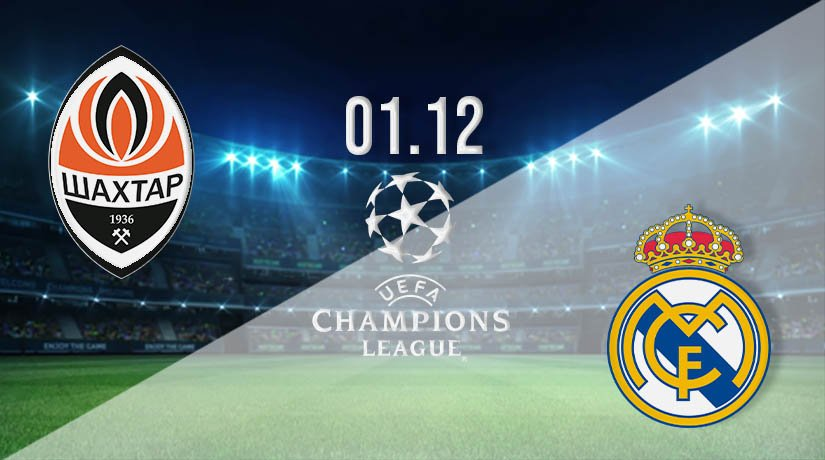 Shakhtar Donetsk vs Real Madrid Prediction: UEFA Champions League on 01.12.2020