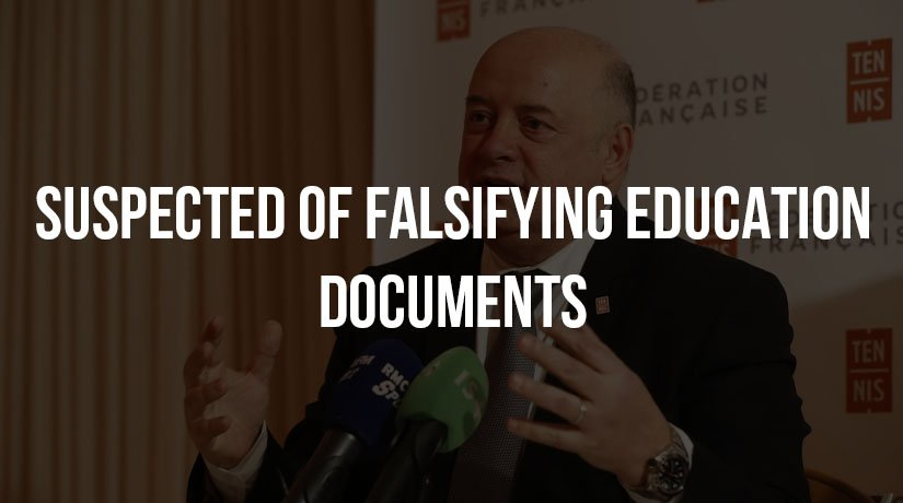 French Tennis Federation Head Suspected of Falsifying Education Documents