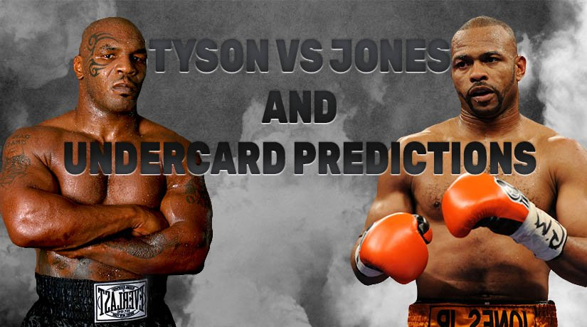 Tyson vs Jones Jr Undercard Predictions: Boxing Matches of the Event