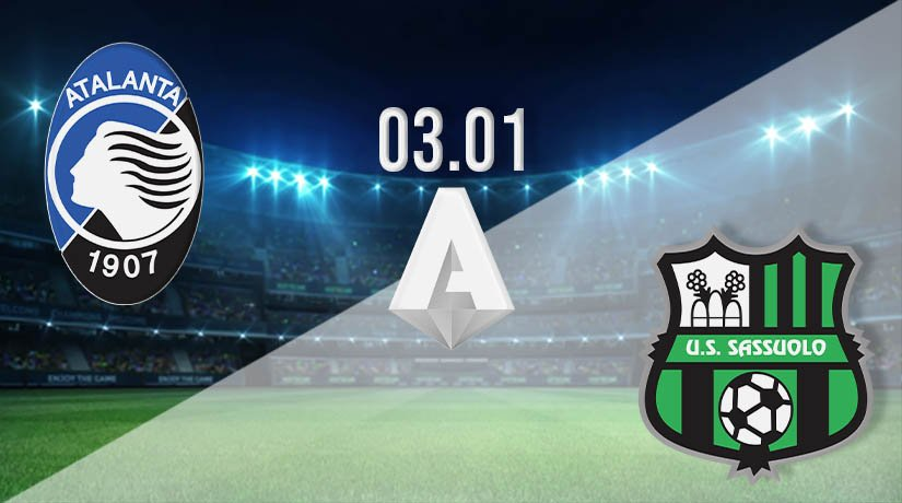 Atalanta vs Sassuolo Prediction: Serie A Match on 03.01.2021